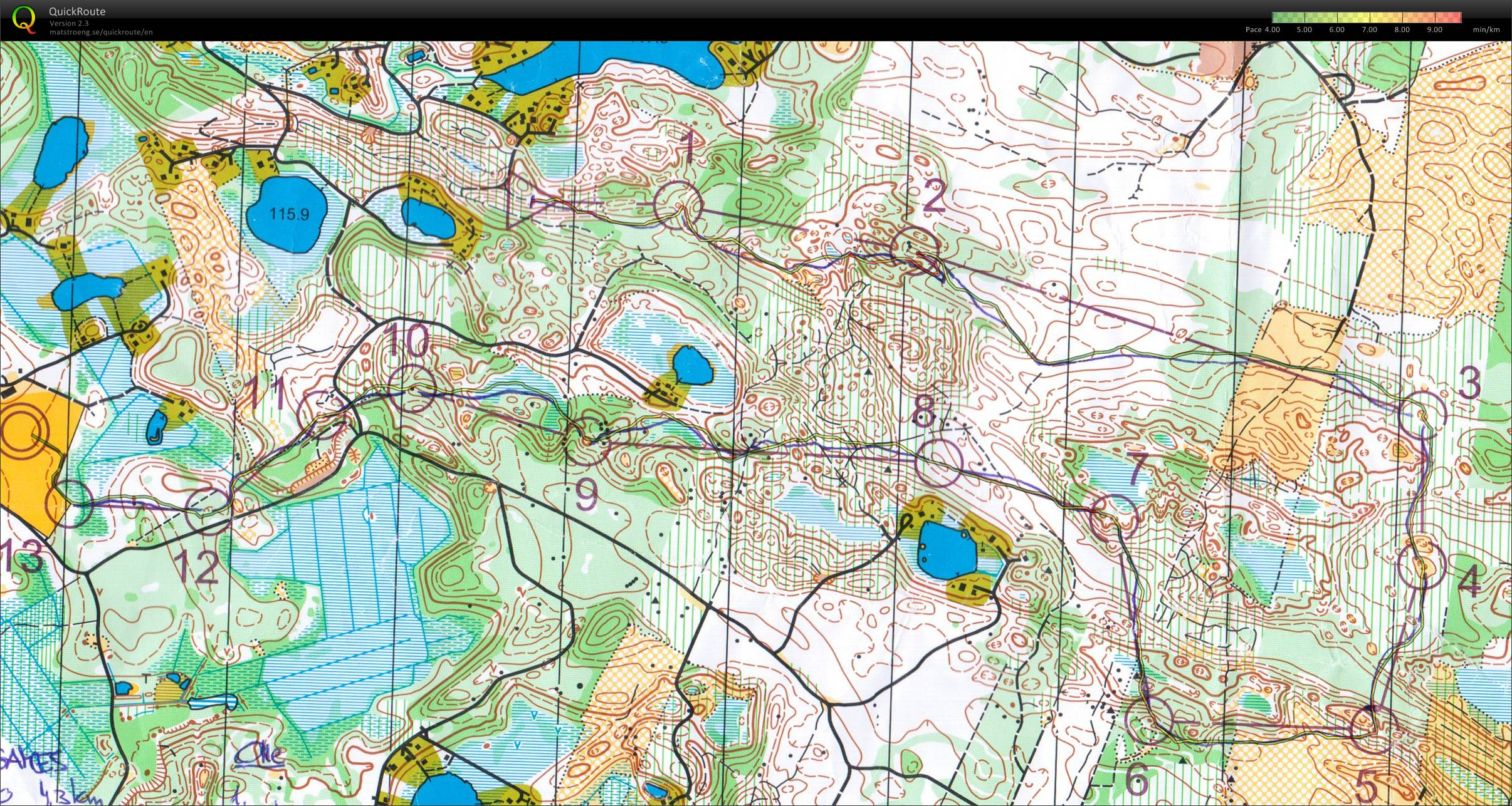 Forssa Games Forssa FIN June 15th 2010 Orienteering Map from